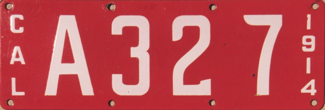 Archive California Porcelain License Plates Part 2 Of 2