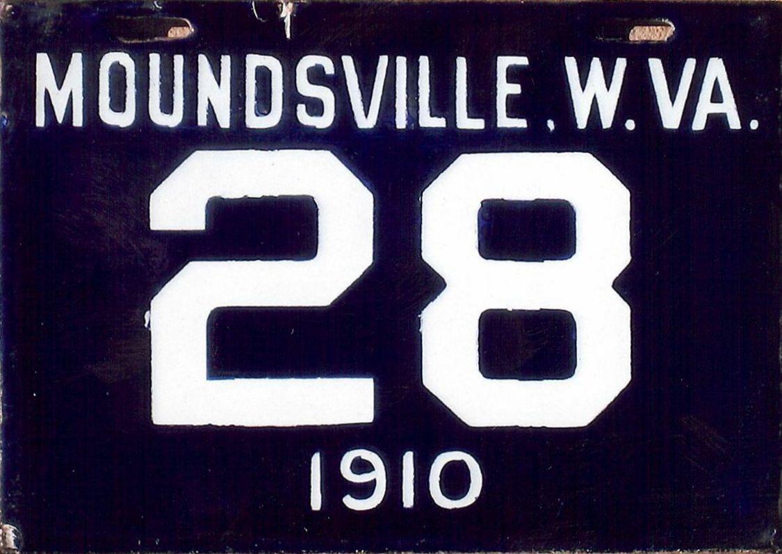 ARCHIVE: West Virginia Porcelain License Plates