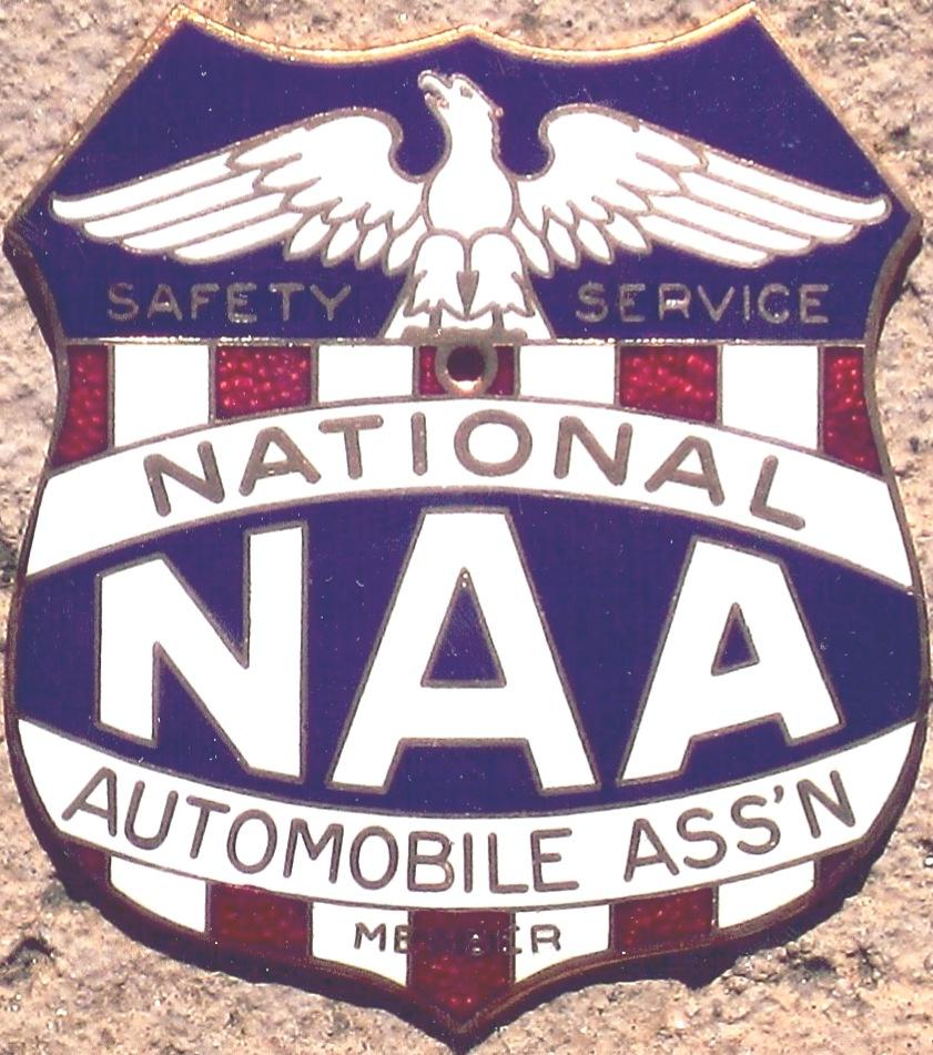porcelain auto club badges national regional unknown