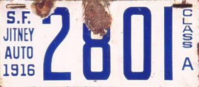 Photo Gallery of Unexplained Porcelain License Plate Mysteries